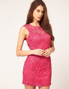 Pink and lace?? YES!