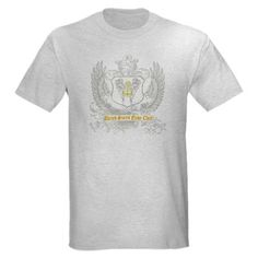 Navy Chief Winged Shield Light T-Shirt