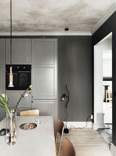 A SWEDISH APARMENT IN A BEAUTIFUL SOFT COLOR SCHEME