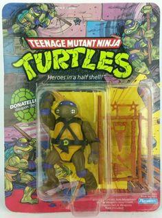 Vintage ☆ #donatello #teenage mutant ninja #turtles figure moc 10 back fan club,  View more on the LINK: http://www.zeppy.io/product/gb/2/282139668814/