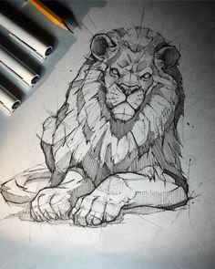 Beautiful pencil drawings - online art on paper - drawing - . - Beautiful pencil drawings – online art on paper – drawing – - Beautiful Pencil Drawings, Pencil Art Drawings, Art Drawings Sketches, Cool Drawings, Tattoo Sketches, Sketch Tattoo Design, Tattoo Drawings, Animal Sketches, Animal Drawings