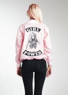 Girl Power Bomber Jacket **Pre-Order, Ships 10/28** | NYLON SHOP
