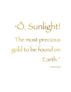 """-: Summer Shine :- """"Ô, Sunlight! The most precious gold to be found on Earth. Nothing Gold Can Stay, Which Witch, Christian Symbols, Dark Places, Can Lights, Summer Solstice, Sunlight, Sunshine, Wisdom"""