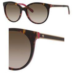 Kate Spade Women's Amayas Round Sunglasses, Havana Pink/Brown Gradient, 53 mm  http://stylexotic.com/kate-spade-womens-amayas-round-sunglasses-havana-pinkbrown-gradient-53-mm/