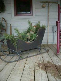 Build Your Own Santa Sleigh Outdoor Decoration Google
