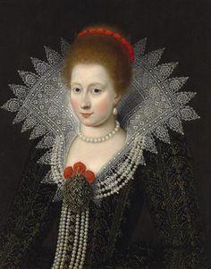 Portrait de Charlotte Marguerite de Montmorency, vers 1610