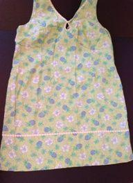 3X Pineapple Hibiscus Daisy Trim Waffle Weave Keyhole Hawaiian Dress by Papagallo