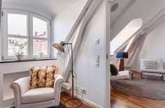 Ruimtelijk penthouse in Stockholm Roomed | roomed.nl