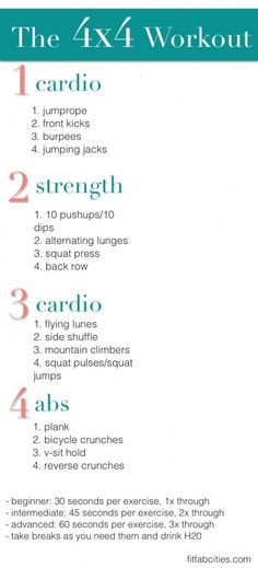 4 x 4 workout= sucess:D by natalia