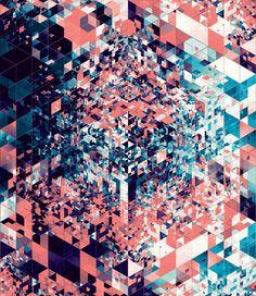 Le caleidoscopiche geometrie di Andy Gilmore