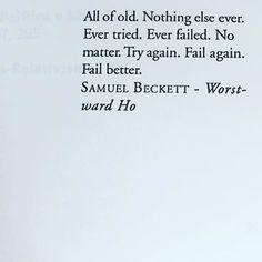 Samuel Beckett frase quote