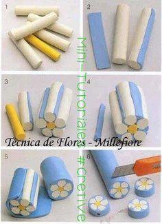 Plasticine Flowers. Amazing for Kids!
