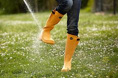 I love Le Chameau wellies in Mango! Great with anything Navy!
