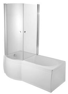 Luxury Enclosed Shower Bath Screen