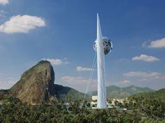 BERIMBAU Eco-Tower  Olympic Games 2016. Rio de Janeiro. Brazil.
