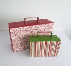 How To Make A Little Cardboard Suitcase | Craft Projects you can make with cardboard | diyready.com
