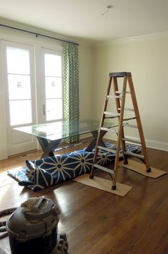 J. Waddell Interiors: Show House Installation Day - PART ONE