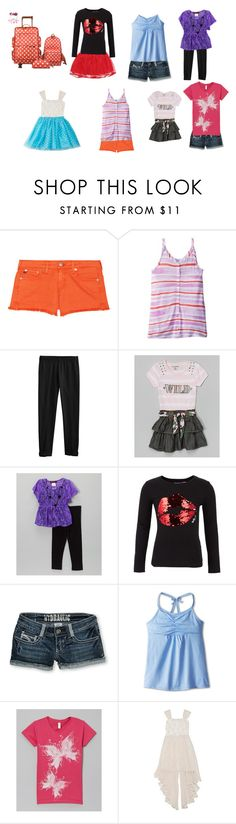 """Dasiy Going to SeaBrook"" by born2shine ❤ liked on Polyvore featuring AG Adriano Goldschmied, Splendid Littles, Hydraulic and Gracie"