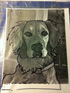 I've made several of these custom dog portraits for friends and family as small wall quilts or pillows (not one of our own Sparky – yet!) I find these to be very well received gifts (w…