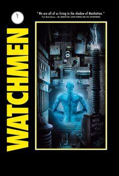 Watchmen Movie Poster - Dr. Manhattan