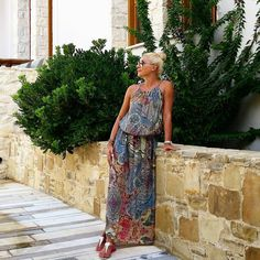 SUKIENKA MAXI CAPRI IV  | UBRANIA \ Sukienki \ Maxi | ShoppingCenter9.pl - Najlepszy sklep z kobiecą modą Capri, Dresses, Fashion, Vestidos, Moda, Fashion Styles, Dress, Fashion Illustrations, Gown