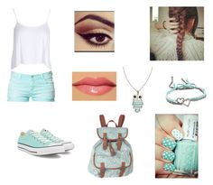 """About Me"" by larasoares100 ❤ liked on Polyvore featuring Zara, Boohoo, Converse, Aéropostale, memento and River Island"