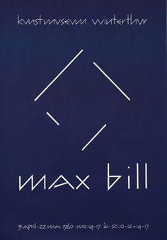 Max Bill, Winterthur 1960 International Typographic Style