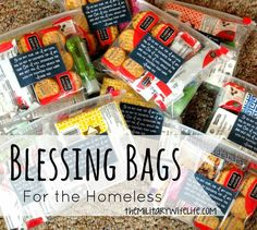 Ever heard of a blessing bag? It's a fantastic way to help out those in need without having to worry about where your money is going. Even if you don't live in an area with lots of homeless people begging for money on the corners, this is still a great thing to keep in your …