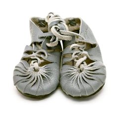 Eco Friendly Toddler Moccasins Grey // PoppysCloset.com