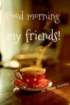 Love my friends and my coffee!
