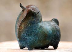 Toro Pedrín Bronce Galería de Arte Pedrín Menorca - Malaga Bull Nuevo - ART Arte en Menorca - Malaga Fotografía: Antxon Castresana