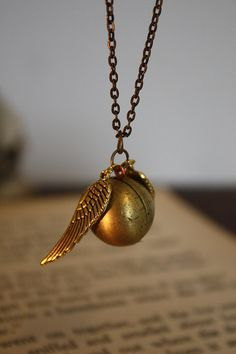 harry potter snitch! <3