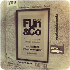 Gracias a nuestros artistas invitados que han hecho de nuestro stand en @colombiamoda una expresión del arte y una manera urbana de comunicación. Todos somos FUN&Co.