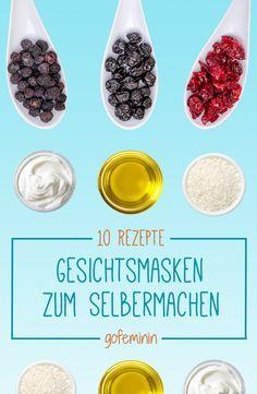 Gesichtsmasken selber machen: 10 schnelle Rezepte für jeden Hauttyp. Jetzt auf gofeminin.de