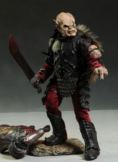Lord of the Rings Gothmog action figure by Asmus