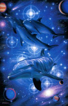 Infinity by Christian Riese Lassen Sea Life Art, Sea Art, Dolphin Art, Aquarium Decorations, Delphine, Universe Art, Animals Of The World, Artist Art, Photo Art