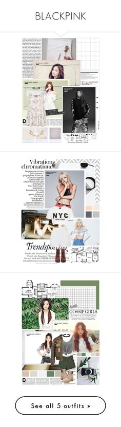"""BLACKPINK"" by ditchdales ❤ liked on Polyvore featuring Arche, Nuevo, New Look, Melissa, Topshop, Freebird, Vanessa Mooney, Kendra Scott, Chicnova Fashion and Miss Selfridge"