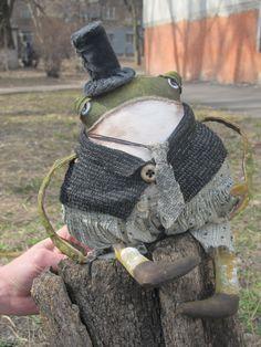Лягуш- путешественник