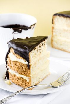 Boston Cream Pie. This is a classic cake that won't disappoint.