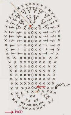 La Magia del Crochet: ZAPATITOS PARA BEBÉ DE 6 A 9 MESES Conoce más de los bebés en Somos Mamas.