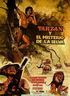 Mi enciclopedia de cine caratulas de las peliculas de - Tarzan pelicula completa ...