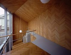 All wooden interior, 'Rainy/Sunny' designed by Mount Fuji Architects Studio, Tokyo/Japan