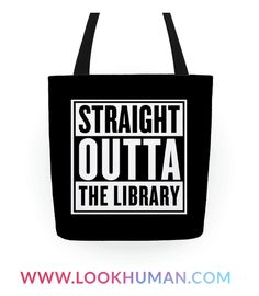 There's nothing more gangster than literacy. Get your read on in this hilariously trendy design and show all the passers by how hardcore it is to be straight outta the library with your new good read. Perfect for lovers of books and biopics.