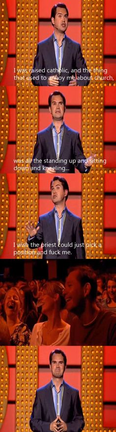 Jimmy Carr on going to church