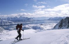 Learn to cross-country soli - Norway has 30,000km of trails, making it the home of cross-country skiing