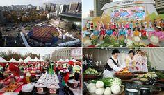 O Festival de Kimchi em Seul foi um sucesso