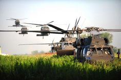 U.S. Army UH-60 Black Hawk helicopters from the 159th Combat Aviation Brigade, 101st Airborne Division, land to pick-up soldiers from 2nd Battalion, 506th Infantry Regiment, 4th Brigade Combat Team, 101st Airborne Division while conducting an air assault in preparation for the Week of Eagles, at Fort Campbell, Ky