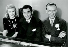 Ginger Rogers, Irving Berlin, Fred Astaire