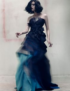 Ombre is my FAVORITE trend this season. This is so revivalist futurism. I love it SO MUCH.