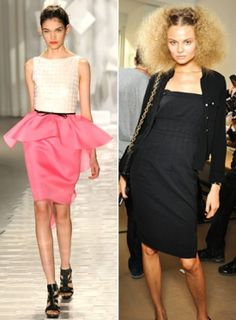 Pepto Pink + Elegant Frizz = love